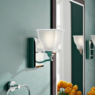 Roquemore 1-Light Bath Sconce by Charlton Home
