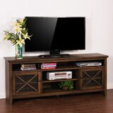 Birney Solid Wood TV Stand for TVs up to 88 by Loon Peak®