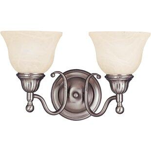 Alcott Hill Kerrigan 2-Light Vanity Light