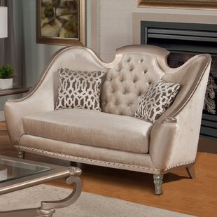 Check Prices Sofia Loveseat by Benetti's Italia Reviews (2019) & Buyer's Guide