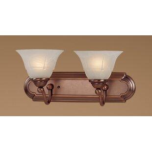 Providence 2-Light Vanity Light by Classic Lighting