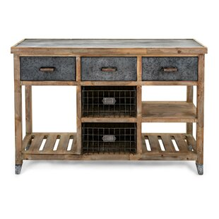 Sturm Wood and Metal Console Table