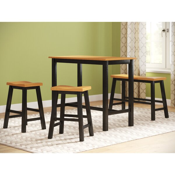 Three Posts Lamantia 4 Piece Counter Height Pub Table Set U0026 Reviews |  Wayfair