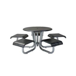 Site Furnishings Metal Picnic Table by Tropitone
