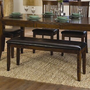 Alita Wooden Two Seat Bench by Woodhaven Hill