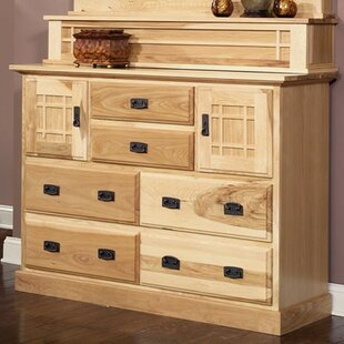 Loon Peak Arvilla 6 Drawer Combo Chest