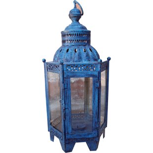 1 Light Outdoor Hanging Lantern By World Menagerie