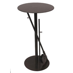 Joshua Iron Fishing Pole Pub Table Millwood Pines