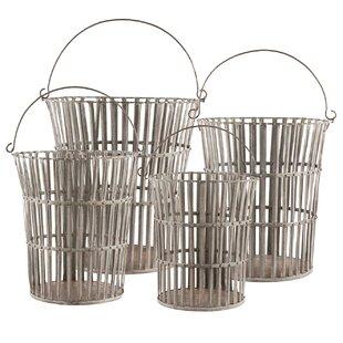 Very Tall Round Wire Basket | Wayfair JE61