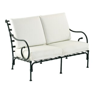 Aikens Loveseat With Cushions by One Allium Way Savings
