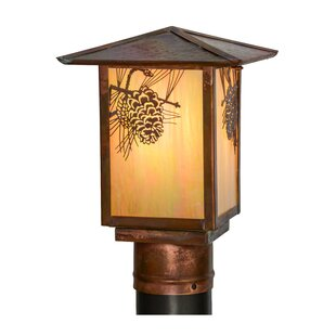 Seneca Winter Pine 1-Light Lantern Head by Meyda Tiffany