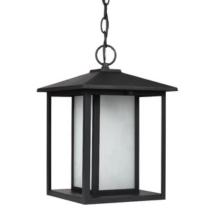 Inexpensive Hayner 9W 1-Light Outdoor Pendant By Three Posts