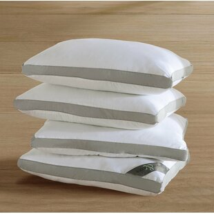 Symple Stuff Auburn Hypoallergenic Gusseted Plush Soft Standard Pillow (Set of 4)
