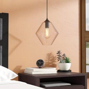 Wrought Studio Mullinix 1-Light Geometric Pendant