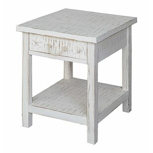 Best Reviews Seaside Coastal End Table by Crestview Collection