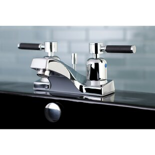 Kingston Brass Kaiser Centerset Bathroom Faucet with Drain Assembly Image
