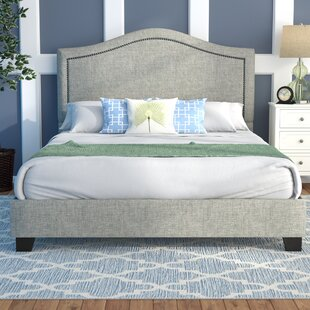 Mellen Upholstered Platform Bed by Alcott Hill