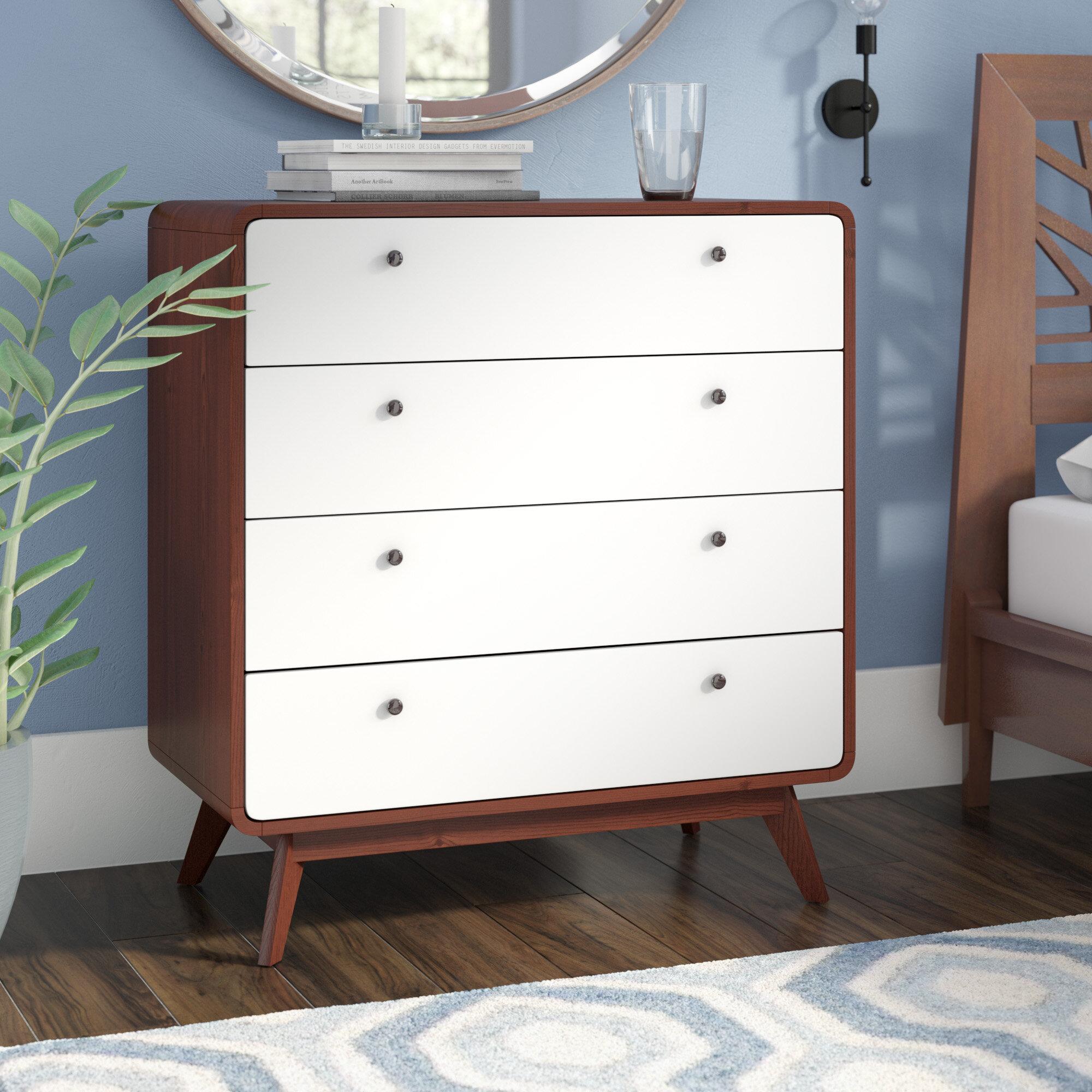 Langley Street Trinity 4 Drawer Dresser & Reviews   Wayfair