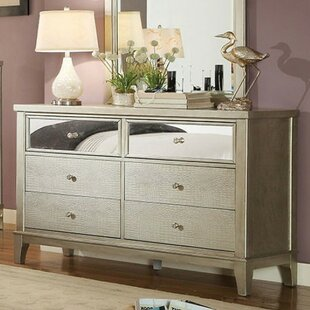 Everly Quinn Amiyah 6 Drawer Double Dresser