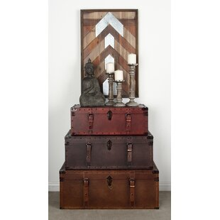 Cantrell 3 Piece Trunk Set