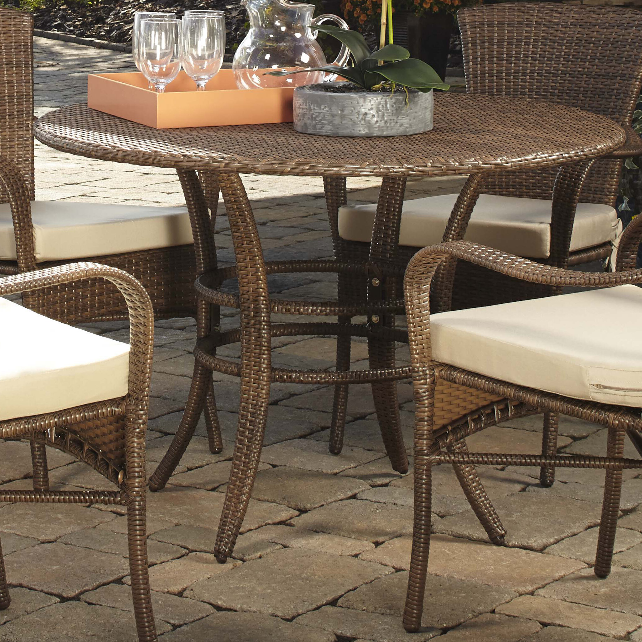 Key biscayne dining table reviews birch lane