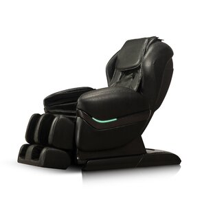 Faux Leather Reclining Massage Chair by iComfort