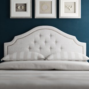 Buy clear Teri Upholstered Panel Headboard by Greyleigh