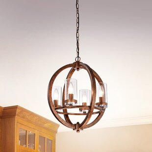 Khaleesi 4-Light Globe Chandelier