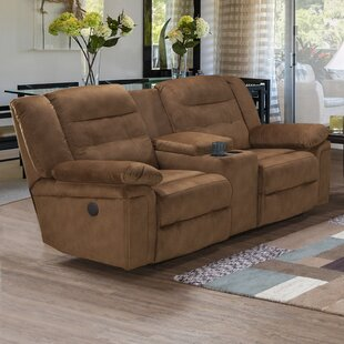 Loon Peak Serta Upholstery Hodgdon Double Recliner Reclining Sofa