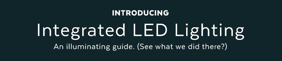 Modern Integrated LED Lighting