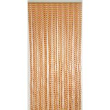 Twisted Solid Semi-Sheer Thermal Single Curtain Panel