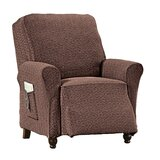 Medallion Stretch Box Cushion Recliner Slipcover by Red Barrel Studio®