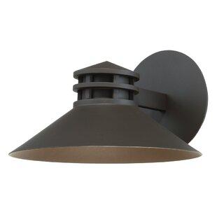 Best Deals Laforce 1 Light LED Outdoor Sconce By Winston Porter