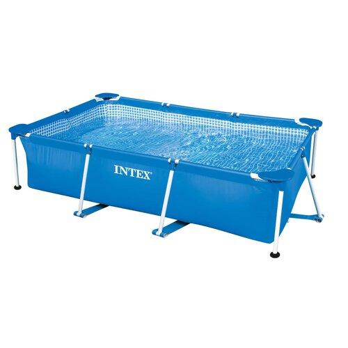 Intex 7-Person 1-Jet Spa with Steel Frame vidaXL