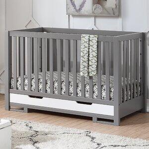 Lanoue 3-in-1 Convertible Crib