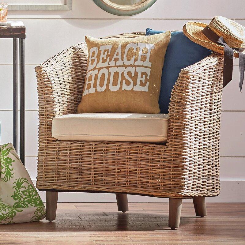 Biscayne Park Barrel Chair Amp Reviews Birch Lane