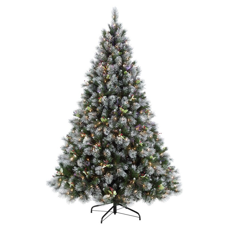 Winter Wonderland Green Fir Artificial Christmas Tree with 250 ClearWhite Lights