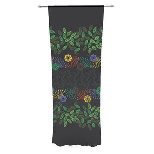 Famenxt Nature Sheer Rod Pocket Curtain Panels (Set of 2) by East Urban Home