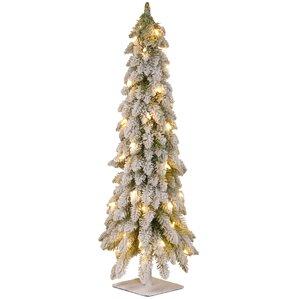 Pics Of Christmas Trees flocked christmas trees you'll love | wayfair