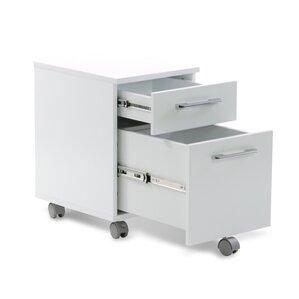 Superb Tribeca 2 Drawer Mobile Pedestal Filing Cabinet
