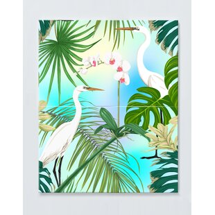 Palm Tree Magnetic Wall Mounted Cork Board By Ebern Designs