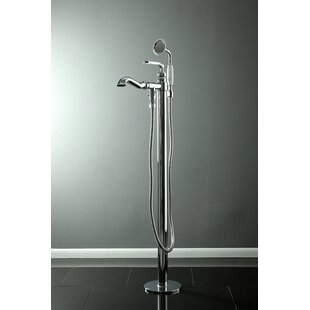 Royale Single Handle Freestanding Tub Filler with Hand Shower