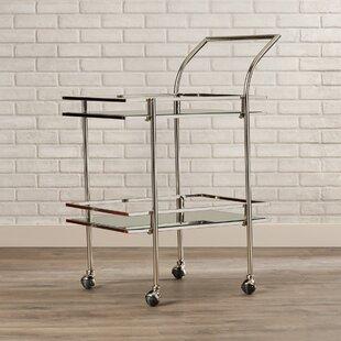 Brayden Studio Antai Boyer Bar Cart