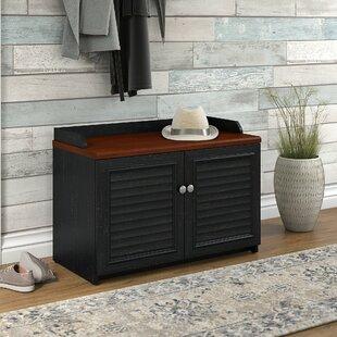 Oakridge 8 Pair Shoe Storage Cabinet by Beachcrest Home