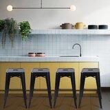 Blazek Counter & Bar Stool (Set of 4) by Breakwater Bay