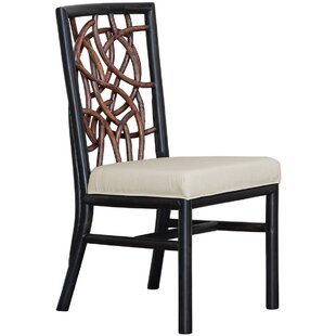 Trinidad Upholstered Dining Chair Panama Jack Sunroom