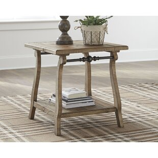 Nixon Dazzelton End Table by August Grove