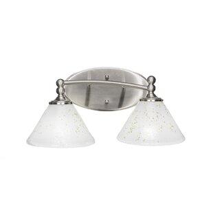 Winston Porter Skypark 2-Light Vanity Light