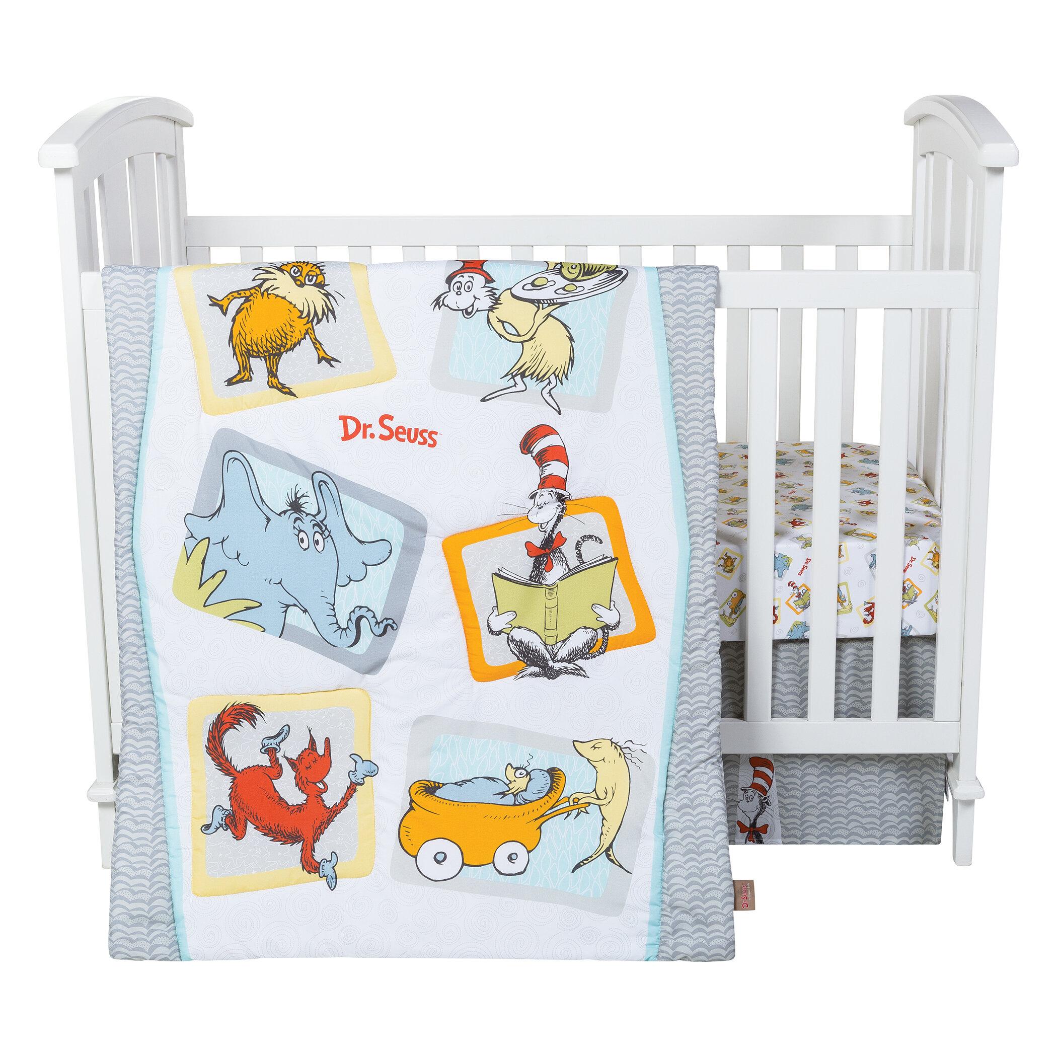 Trend Lab Dr. Seuss Friends 5 Piece Crib Bedding Set U0026 Reviews | Wayfair