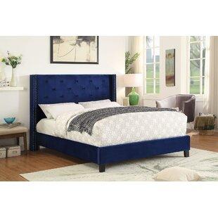 Mercer41 Elsmoriet Queen Upholstered Platform Bed